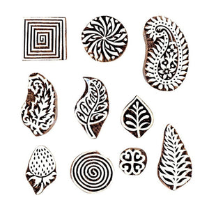 Mughal Design Printing Blocks for Wall Painting