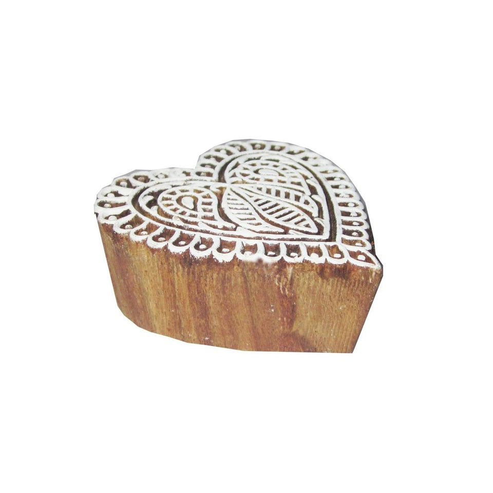 Solid Wood Saree Border Printing Blocks