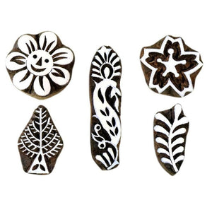 Hand-Carved Printing Stamps for Home Decor & Printing