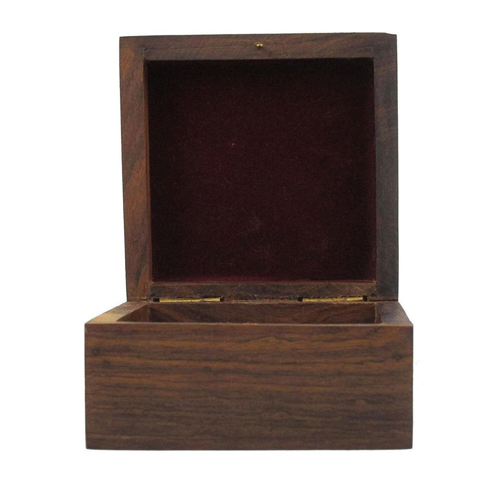 Sheesham Wood Bangle Box for Wedding Gift