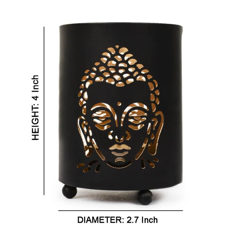 Buddha Shadow Tealight Candle Holder