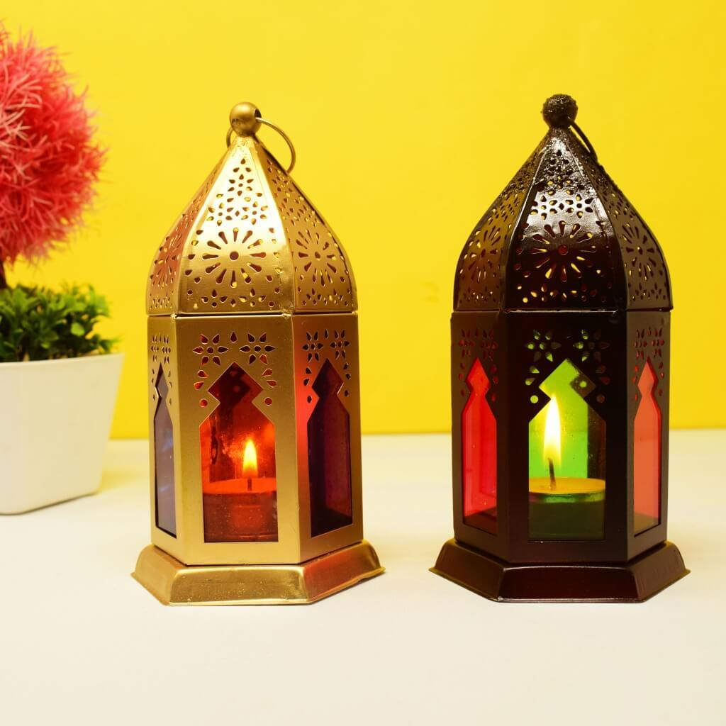Decorative Tealight Candle Holder (Set of 2)