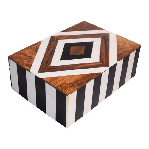 Wooden Colorful Jewelry Organizer & Storage Box