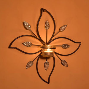 Metal Wall Sconce Tealight Candle Holder