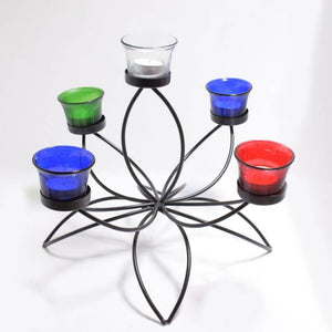 Lotus Tealight Candle Holder