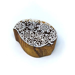 1 Small Size Wooden Printing Block