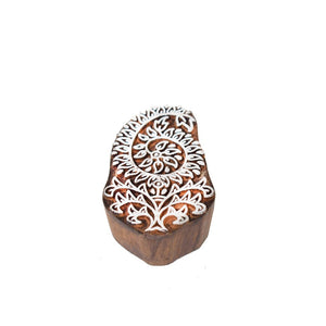 Mughal Design Hand-Carved Wooden Blocks