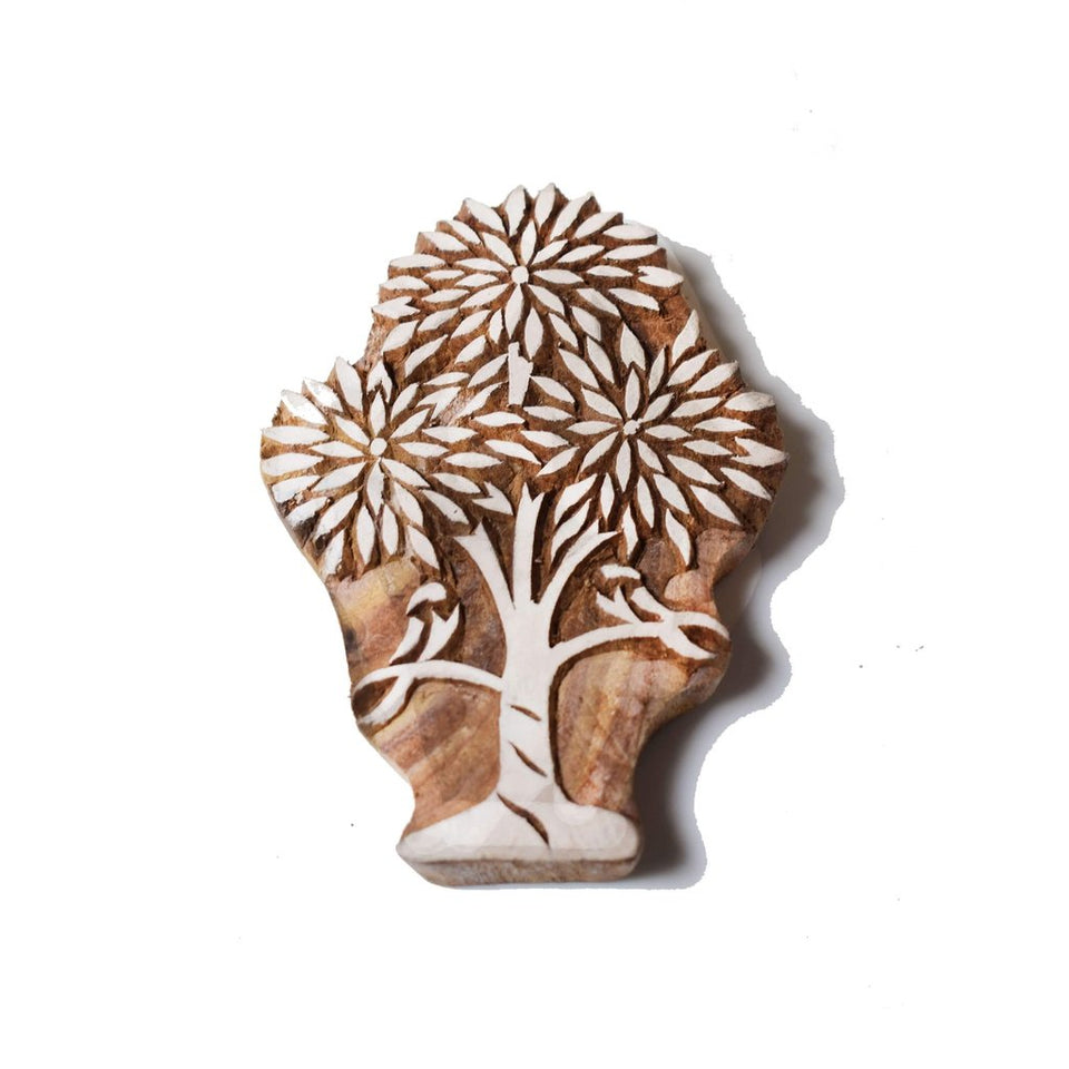 Big Size Tree of Life Wooden Printing Stamps