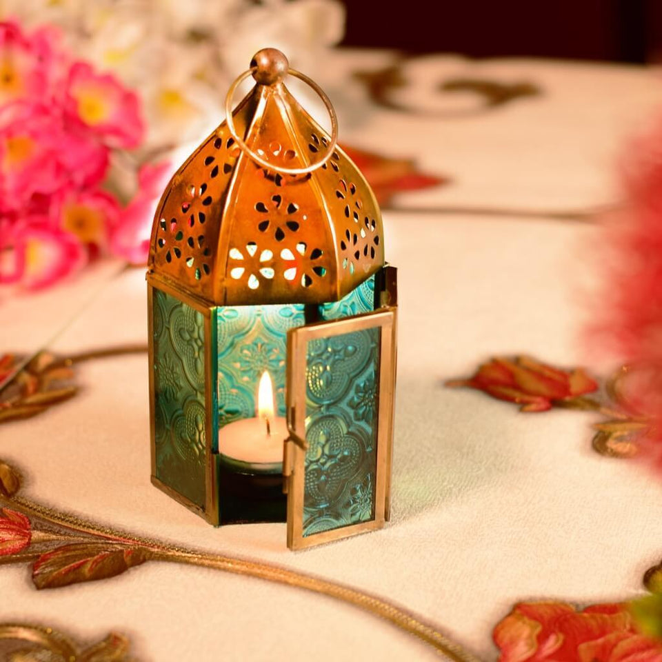 Moroccan Style Hanging Tealight Candle Holder