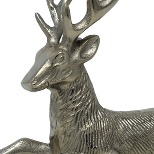 Decorative Aluminium Deer Showpiece for Table Top/ Home Decor.
