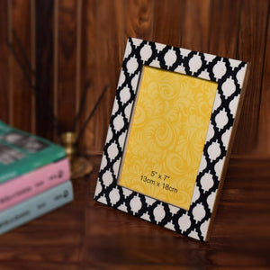 Decorative Wooden Photo Frame (7x5 Inch)