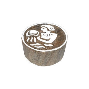 Handmade Wooden Astrology Horoscope Stamps