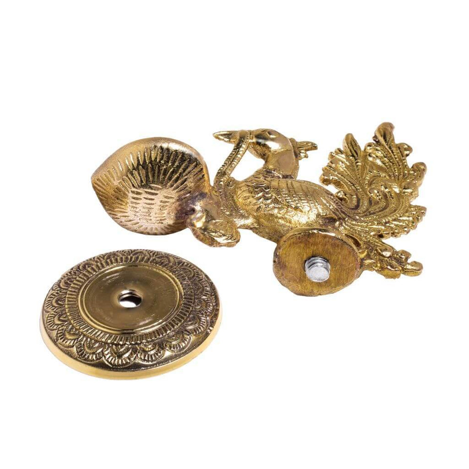 Brass Peacock Oil Lamp Deepak