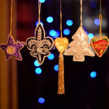 Decorative Hanging Ornaments For Wall Decor  (Set of 5)
