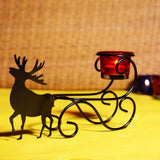 Deer Design Traditional Votive Holder