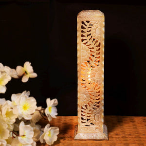 Soapstone Hand Carving Candle Holder