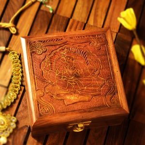 Wooden Keepsake Box for Storing Jewelry