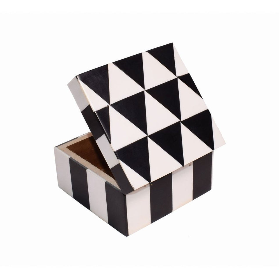 Wooden Handicraft Colorful Decorative Box for Gift
