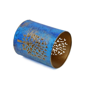 Metal Pen Pencil Holder Tree Design