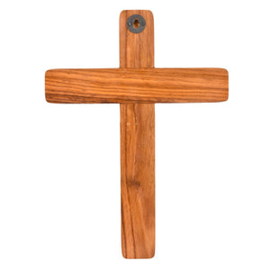 Handcrafted Sheesham Wood Jesus Christ Cross (15x11 Inch)