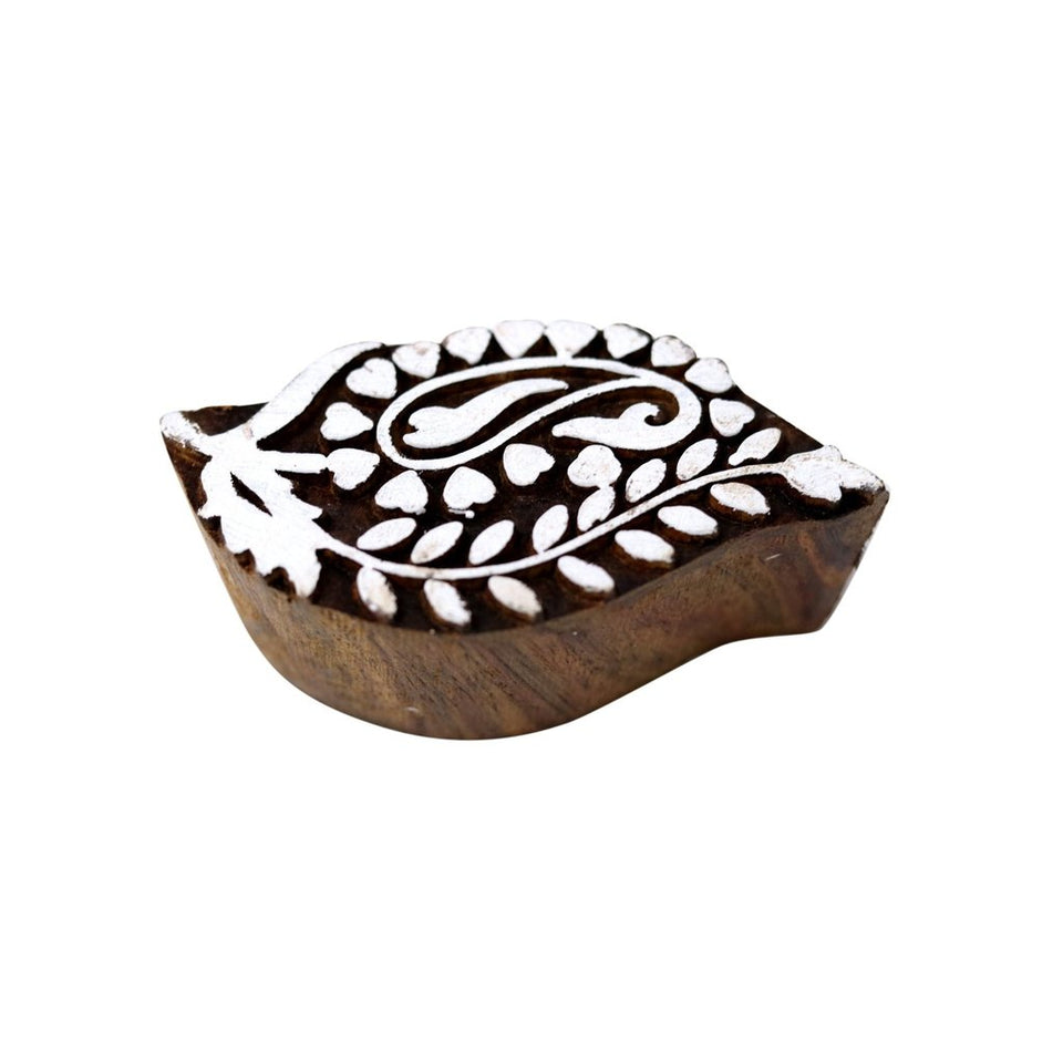 Indian Handicraft Handmade Wooden Printing Stamps