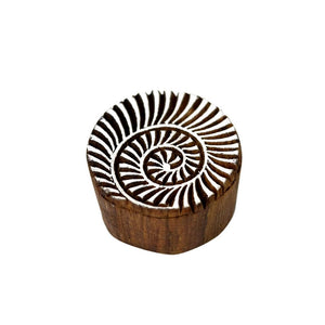 Home Decorative Handmade Wooden Showpice Stamps