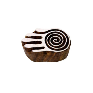 Wooden Handicraft Handmade Printing Stamps