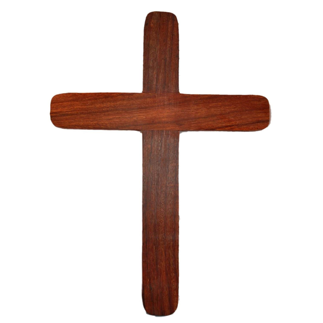 Handmade Sheesham Wood Jesus Idol Cross (11x8 Inch)