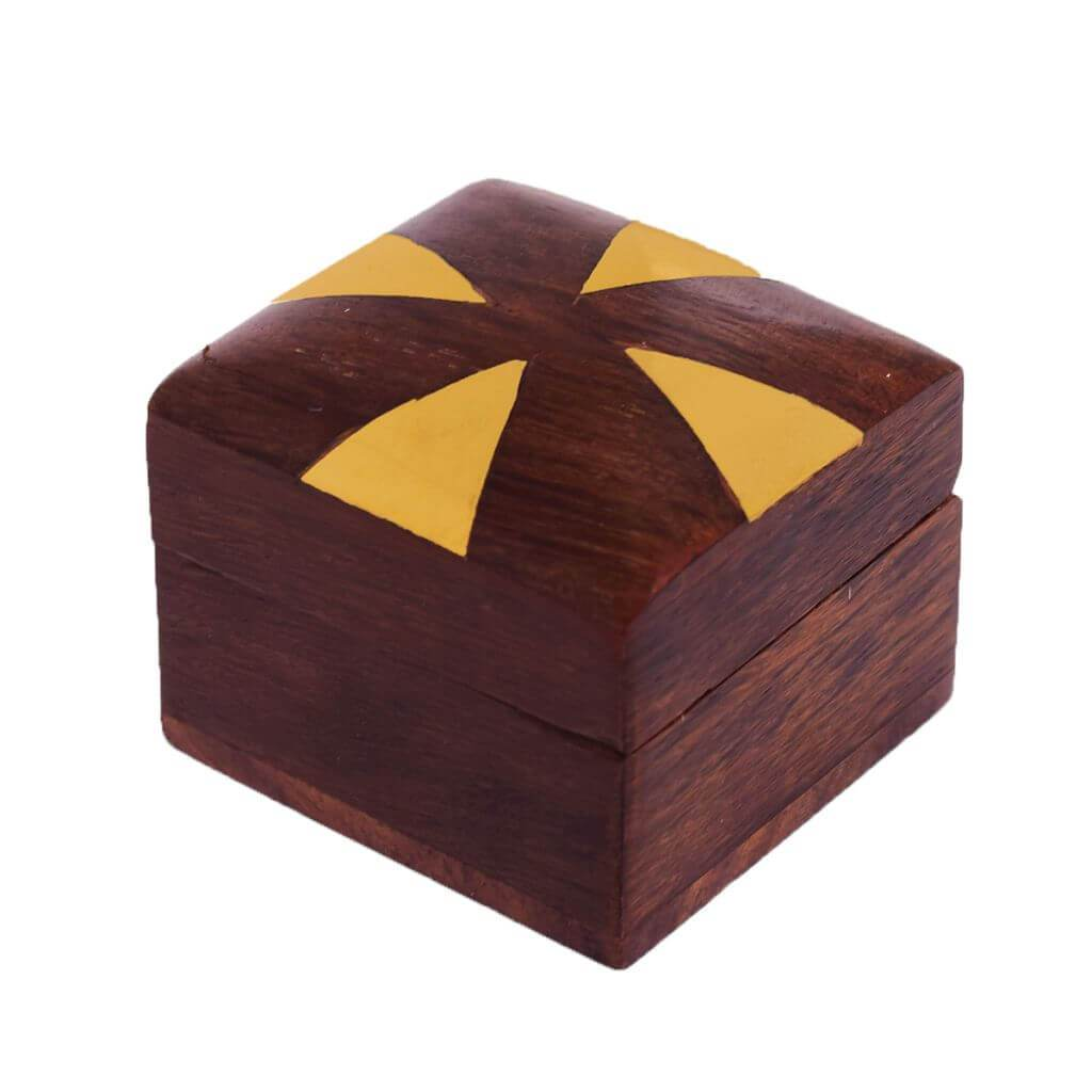 Indian Handicraft Wooden Decorative Box for Gift