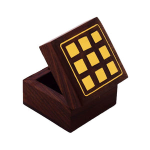 Wooden Handicraft Decorative Box for Gift