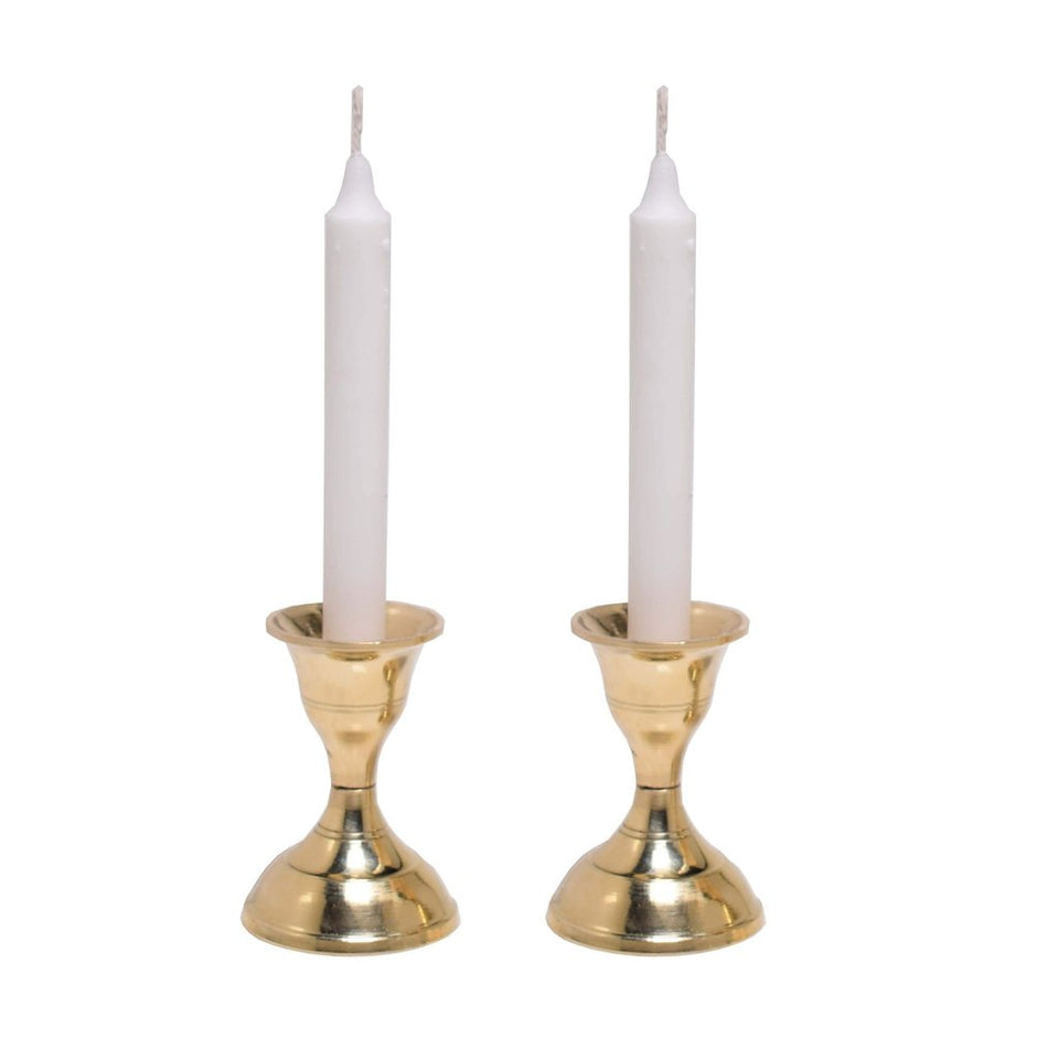 Brass Candle Stand For Home Decor & Gift (3 Inch)-Tealight Candle Holder-Hashcart