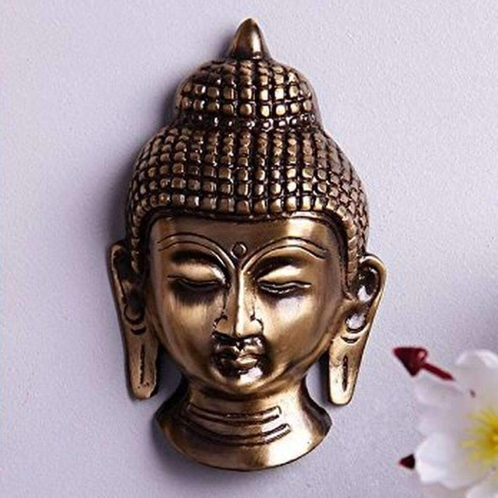 Antique Buddha Statue Wall Hanging For Home Decor