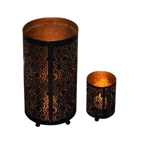 Traditional Votive Tealight Holder for Home Decor (Set of 2)