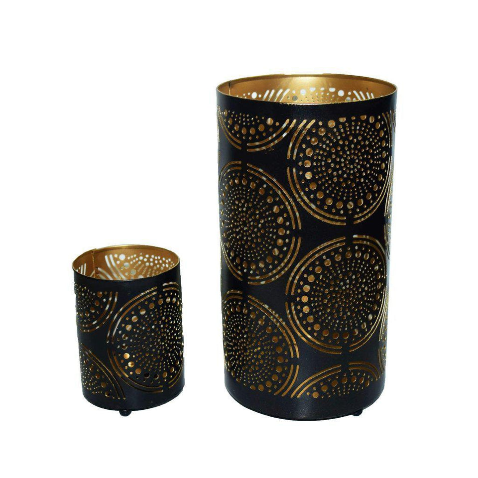 Designer Votive Tealight Holder for Home Decor (Set of 2)-Tealight Candle Holder-Hashcart