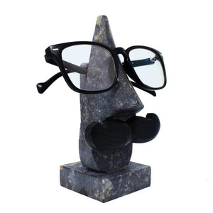 Handcrafted Marble Nose Shaped Specs Holder