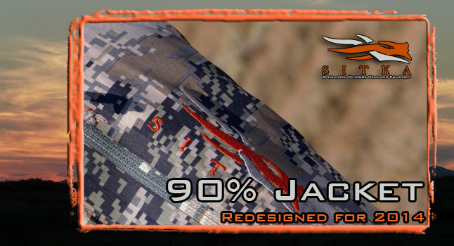 Redesigned for 2014 - Sitka's 90% Jacket