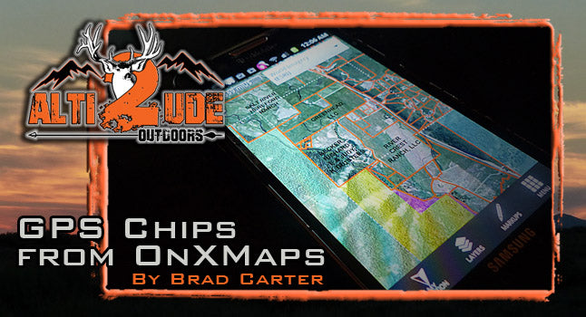 GPS Chips from OnXMaps - Worth every Penny...