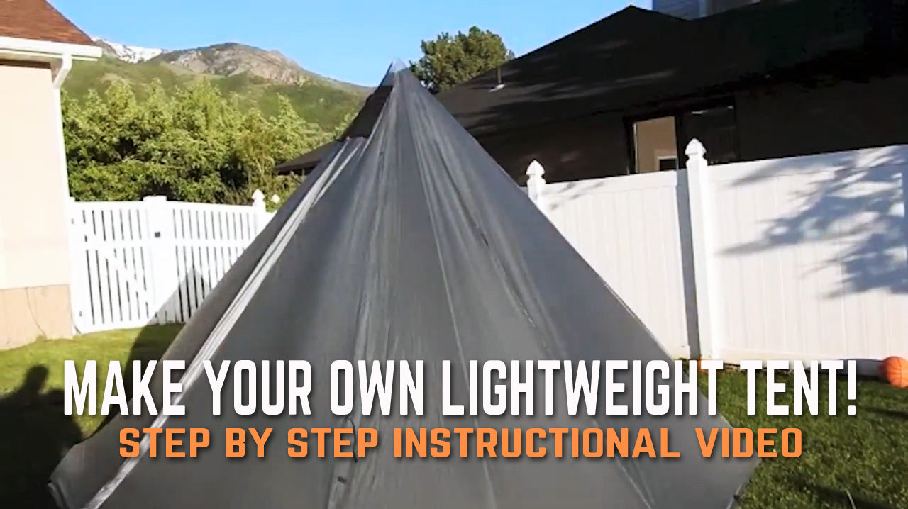 Make Your Own Tipi Tent/Shelter - DIY