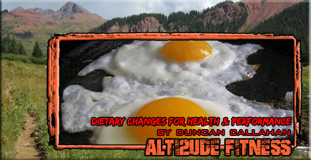 Dietary Changes for Health and Performance by Duncan Callahan