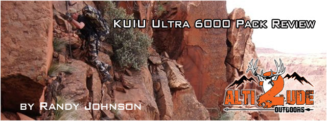 KUIU ULTRALIGHT 6000 PACK SYSTEM REVIEW - By Randy Johnson