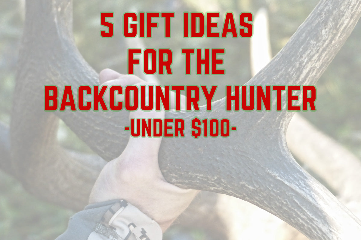 Gifts for the Backcountry Hunter