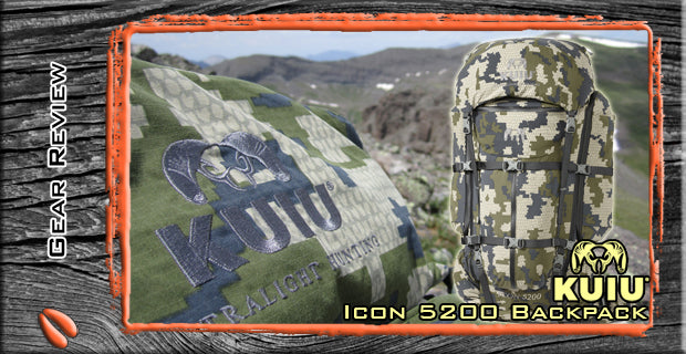 KUIU Icon 5200 - One Bad Ass Pack!