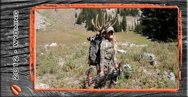Unexpected Encounters; My 2012 High Country Archery Mulie by Rebecca Francis