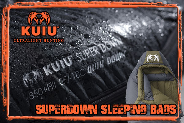 KUIU Superdown Sleeping Bags