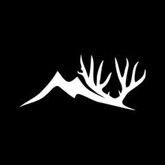 Altitude Mule Deer Logo Decal