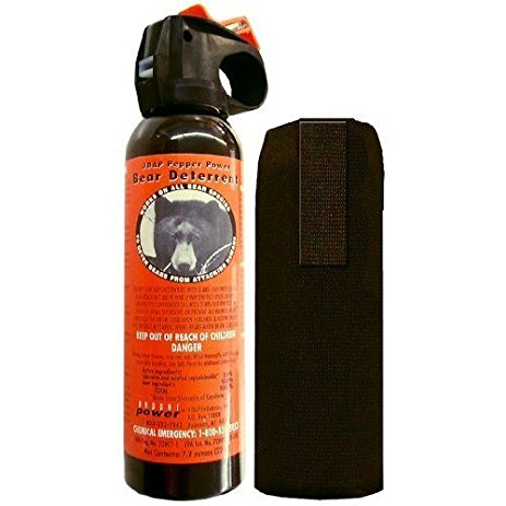 UDAP Pepper Power Safety Orange Bear Spray