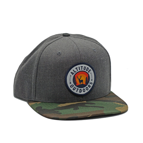 GrayCam Sunset Flat Brim