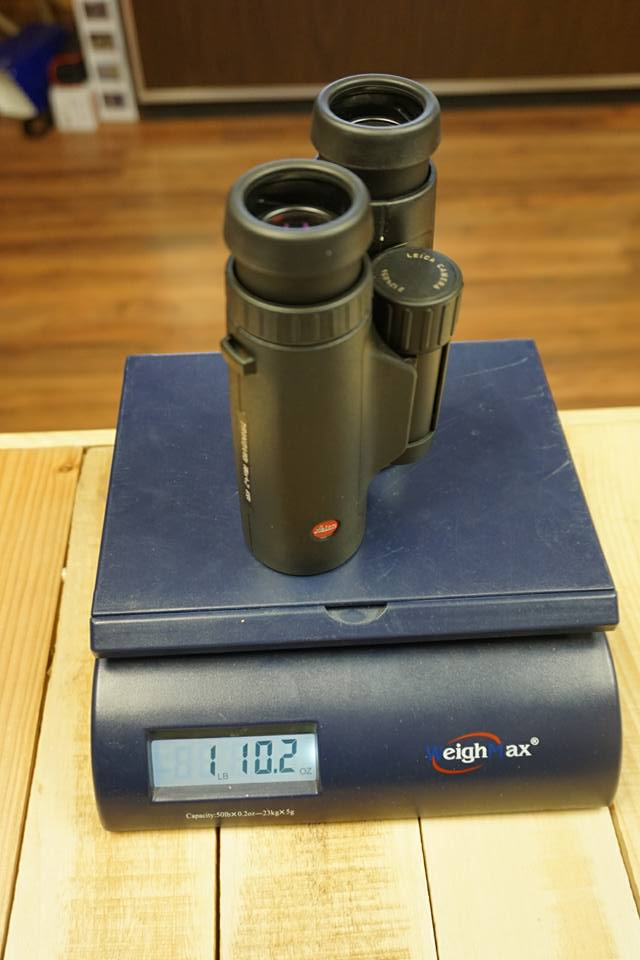 Trinovid Binocular Weight