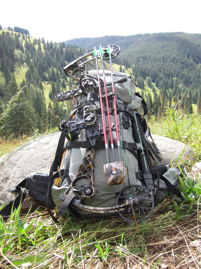Front of Stone Glacier 6200 with Mathews NoCam