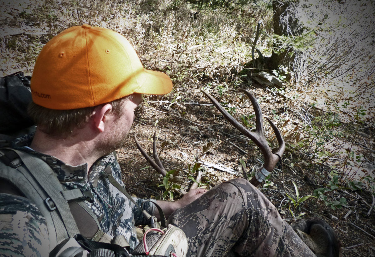 Packing out after Wyoming Mule Deer Hunt